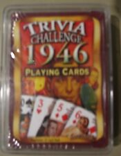 1943 1944  1947 1948 1949 Trivia Challenge Playing Cards