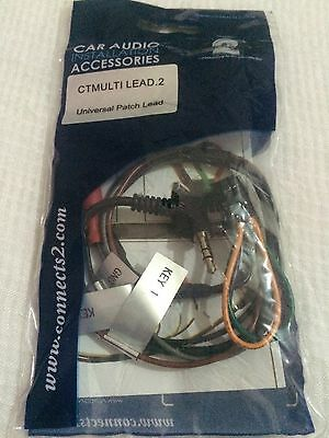 Connects2 CTMULTILEAD.2 Universal Car Stalk Steering Control Stereo Patch Lead