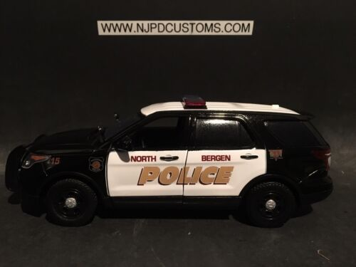 North Bergen Police 1:24 Scale Ford Explorer Police SUV