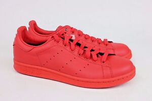 7517be8b1 Adidas Originals x Pharrell Williams Stan Smith Red Mens Sneakers ...