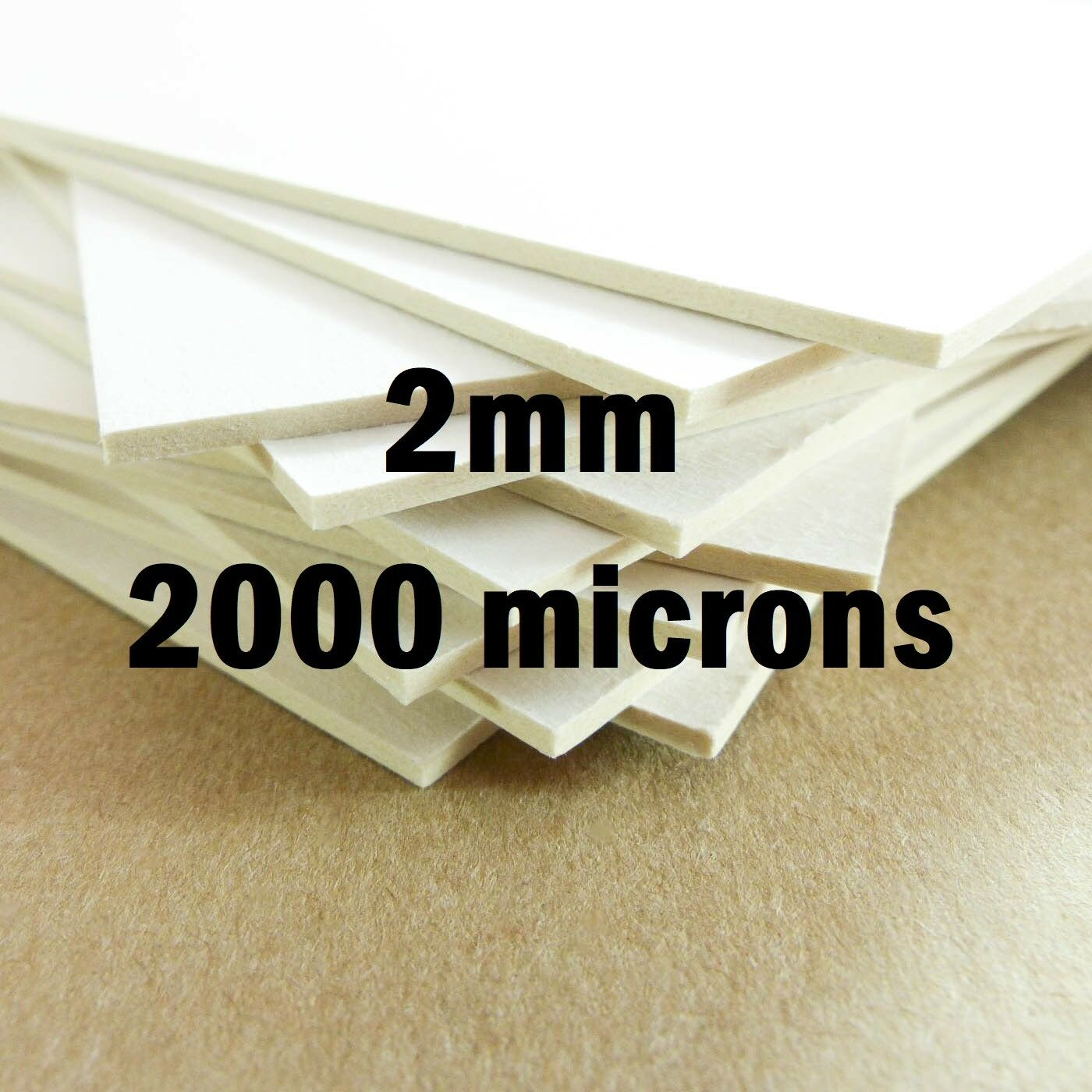 1mm 2mm A4 A3 tablero del forro Tarjetas De Cartón Hojas De Papel Kraft Blanco Modelo De Montaje