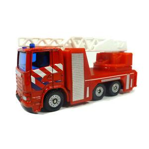 "Genial Siku 1014 Scania Feuerwehrdrehleiter ""brandweer"" Rot blister ° Modellauto Neu"