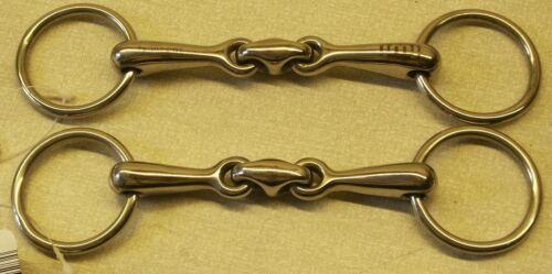 Fahrgebisse & -kandaren Shetty Ausbildungsgebiss 8,5-10,5cm mit kleinen 40mm Ringe Minishetty Fahrsport