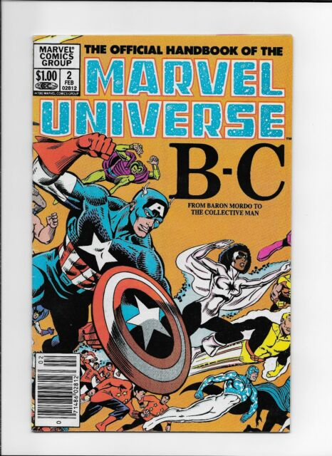 Official Handbook of Marvel Universe #2 ~FN