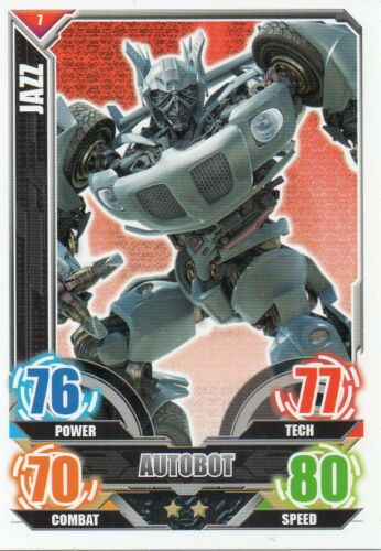 Topps Transformers Trading Card Autobots Cards