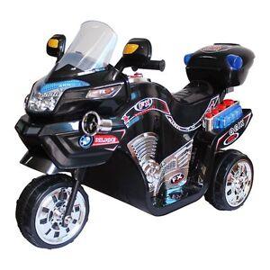Kids Battery Powered Motorcycle Boy Child Toddler 3 Wheel Motor Bike Scooter Toy Ebay