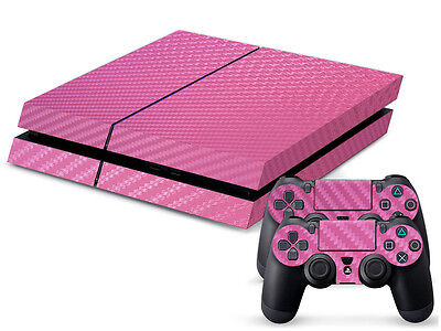 Pink Alu Motiv Video Game Accessories Buy Cheap Sony Ps4 Playstation 4 Skin Design Aufkleber Schutzfolie Set