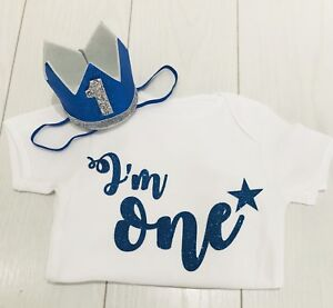 Image Is Loading Baby Boys First 1st Birthday Cake Smash Outfit