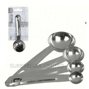 Stainless Steel Measuring Spoons Measuring Cups Cooking Baking Kitchenware Tool