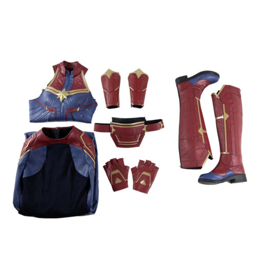 2019 NEW ARRIVAL Captain Marvel Cosplay Costume For Women Halloween Customized