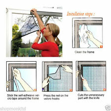 Window Insect Screen Mesh Net Mosquito Netting Protection Bug Fly Moth Garden