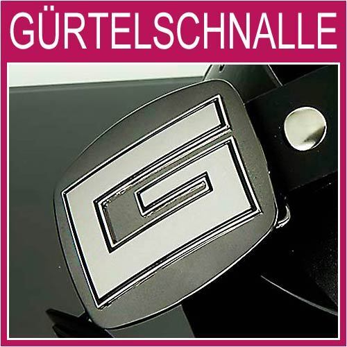 G LUXUS Gürtelschnalle,Silber Hochglanz Herren,Damen,Gürtel,BUCKLE,NEU,1G17p