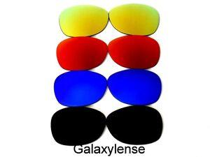 Galaxie rechange lentilles pour Ray-Ban RB2132 Wayfarer Noir et bleu ... 738f33ad391f