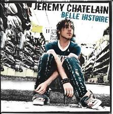 CD CARDSLEEVE 2T JEREMY CHATELAIN STAR ACADEMY TV BELLE HISTOIRE NEUF SCELLE