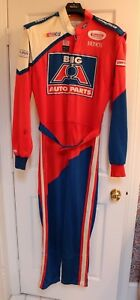 STEVIE-REEVES-NASCAR-USAC-MIDGET-STAR-SIMPSON-DRIVERS-SUIT-BIG-A-AUTO-PARTS-1997
