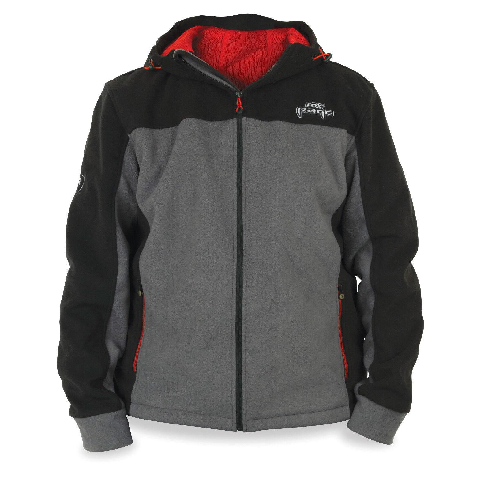 Fox Rage WIND Stopper giacca in pile caldo  WIND densa Angel Giacca Abbigliamento Angel