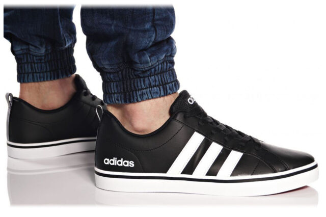 Adidas Men Shoes Fashion Sneakers Man VS Pace 3 Stripes Casual Black B74494  New