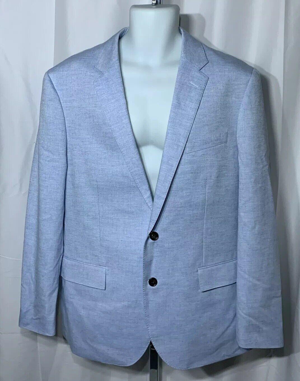 J Crew Ludlow bluee Cashmere Wool Linen Blend Sport Coat Blazer Sz.44R NWT