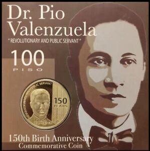 2019 Philippine 100 Piso  DR. PIO VALENZUELA Banko Sentral Commemorative Coin