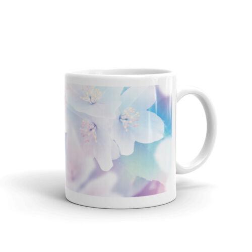 Best Sister Pretty Flower-High Quality 10 oz Coffee Tea Mug #12016