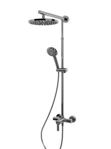 Schulte DuschMaster Rain mit Einhebelmischer Kopfbrause rund D9620