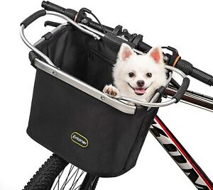 ERRLANER-Cofit-Bicycle-Basket-Shopping-Collapse-Detach-Dog-Pet-Carry-Bike-Handle