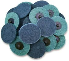25pcs 3 Fine Surface Conditioning Scotch Brite Roll Lock Roloc Sanding Discs