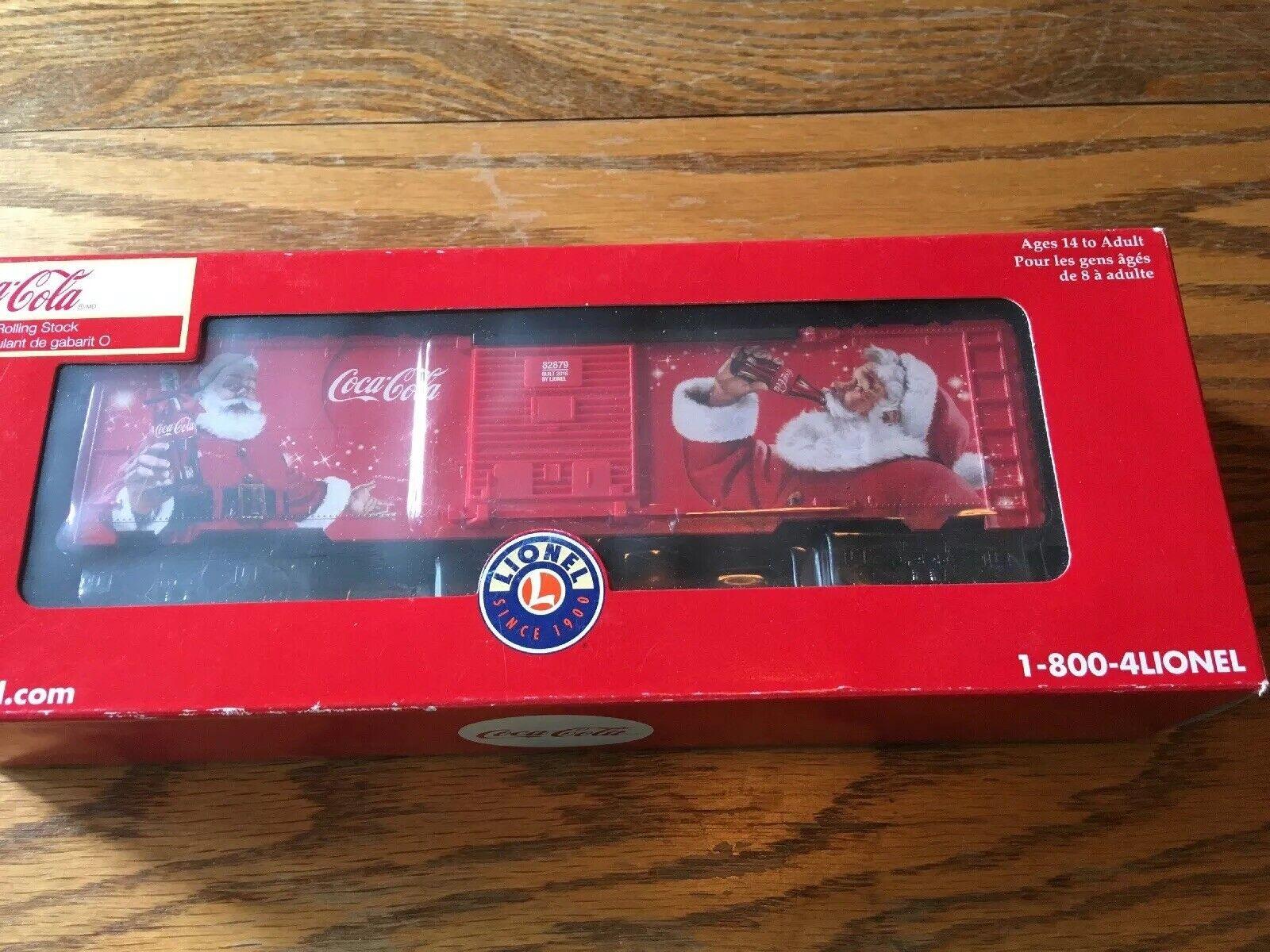 LIONEL 6-82879 Coca-Cola Santa Boxcar COKE CHRISTMAS 2016
