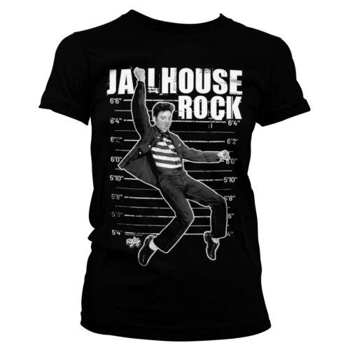 Officially Licensed Elvis Presley Jailhouse Rock Women/'s T-Shirt S-XXL Sizes