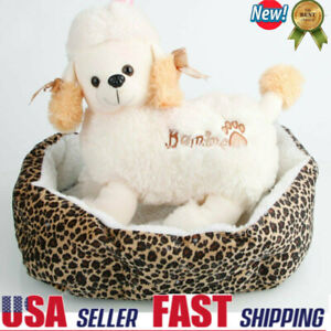 Large Soft Warm Fleece Pet Bed Puppy Dog Cat Cozy Cushion Mats Machine Washable