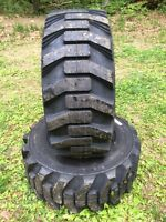 2 Galaxy Xd2010 12-16.5 Skid Steer Tires For Bobcat & Others 12x16.5 -12 Ply