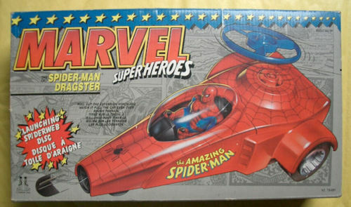 Marvel Spider Man Dragster Toy Biz 1990 MIB RARE