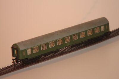 Buono Tt D-treno Carro, 4-a, Dr, 1./2. Classe, Verde/grigio (tetto)-mostra Il Titolo Originale Merci Di Alta Qualità