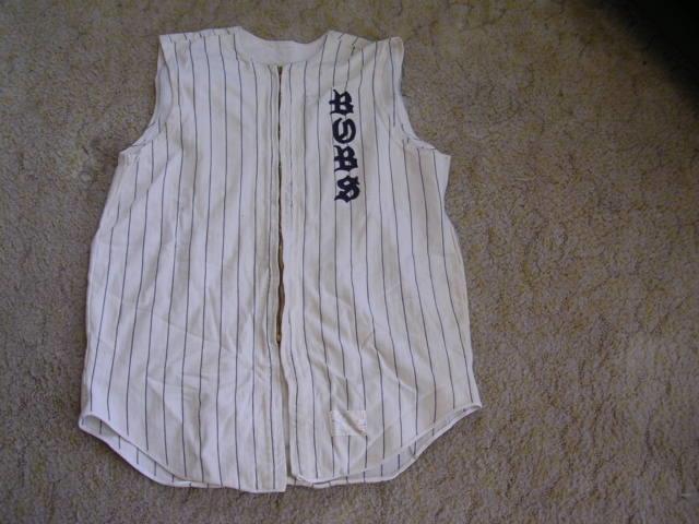 1950's-60's 1950's-60's 1950's-60's Spanjian Sleeveless Zipperot Baseball Jersey Team Bubs  12 Größe 42 371411