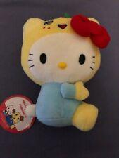 "Sanrio Hello Kitty Plush Fluffy Material Pink 10/""x7.5/"""
