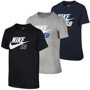 Nike-SB-Logo-Kinder-T-Shirt-Jungen-Tee-Maedchen-Shirt