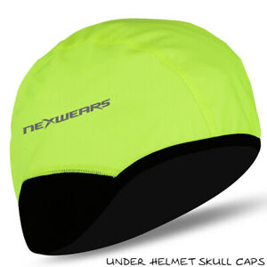 Winter Thermal Cycling Skull Cap Motorbike Cycle Under Helmet Windstopper Hat