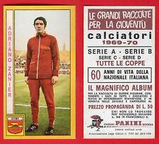 FIGURINA CALCIATORI PANINI 1969/70 - NUOVA/NEW - ZANIER - ROMA