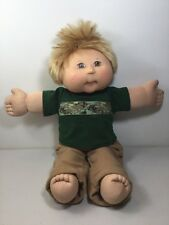 Vintage 1978 2005 Play Along Cabbage Patch Doll Kid Boy Blonde PA-4 PF21605