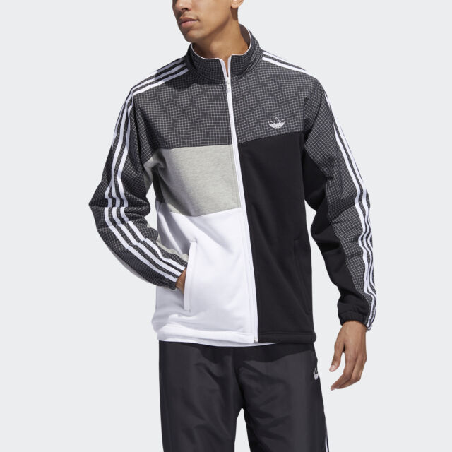 Black White CZ6109 Size M - 2XL Adidas Originals BR8 TT Track Jacket Men/'s