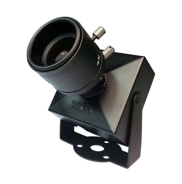 "HD SDI 1080P WDR Mini CCTV Security Camera 1/3"" Panasonic 2.1MP 2.8-12mm ZOOM"