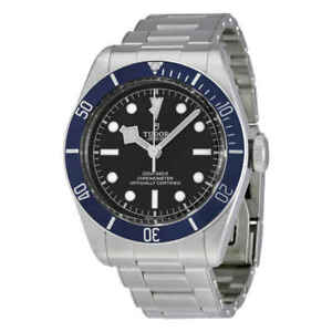 Tudor-Heritage-Automatic-Chronometer-Black-Dial-Men-039-s-Watch-M79230B-0008