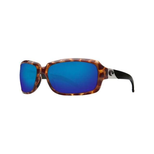 Costa del Mar Isabela Polarized Sunglasses Black//Blue 580P IB 11 OBMP Women/'s