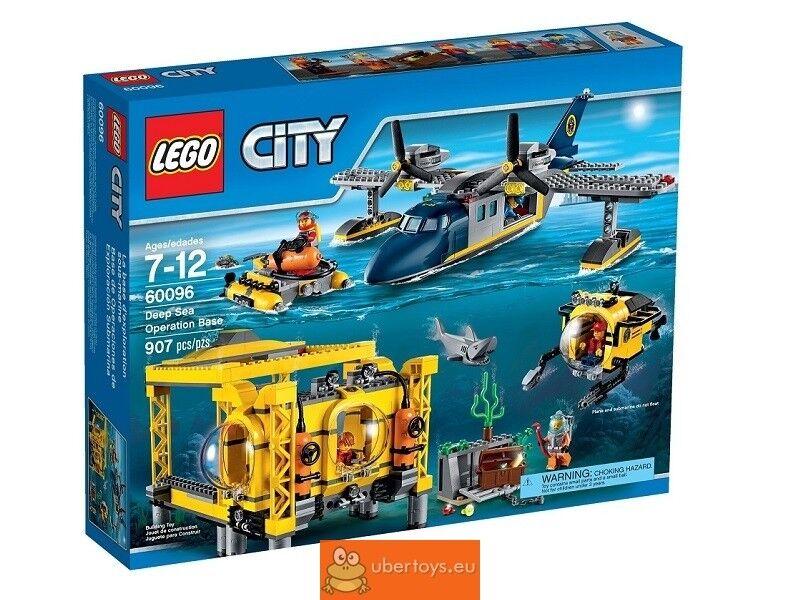 Lego 60096 City  haute mer-Station  authentique