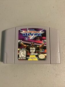 NFL-Blitz-Nintendo-64-N64-Original-Authentic-Game-Tested-Working