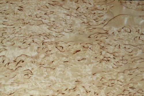 Karelian Birch Raw Wood Veneer Sheets 7.5 x 38 inches 1//42nd thick   E4704-29