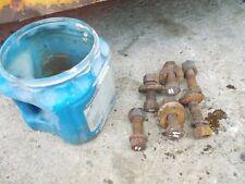 Farmall H M Sh Sm Mta Ih Tractor 6 Drawbar Bolts Bolt Nut Nuts