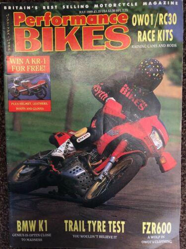 Performance Bikes magazine; motorcycle magazines