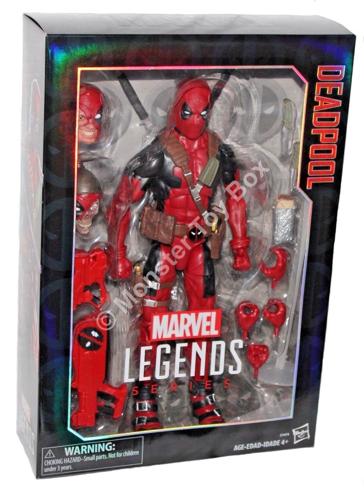 Marvel - legenden 12  für deadpool action - figur authentisch uns verkäufer todesspiel