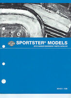 Harley-davidson 2010 Sportster Models Parts Catalog P/n 99451-10b